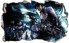 Adesivi Murali Attack on Titan, adesivo,