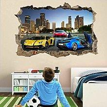 Adesivi murali auto sportive Adesivo murale Poster