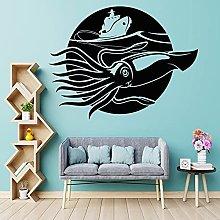 Adesivi murali calamari giganti adesivi per barche