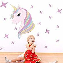 Adesivi Murali Cavallo Magico Unicorno Animali