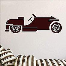 Adesivi Murali Classici Neri Per Auto A Bolle