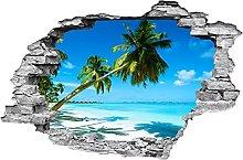 Adesivi murali con paesaggi di palme da spiaggia
