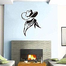 Adesivi murali Cowboy Club Sticker Bar Decal