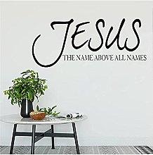 Adesivi murali cristiani citano il nome di Gesù