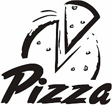 Adesivi murali cucina Decorazione camera Pizza Fai