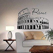 Adesivi Murali Decalcomanie, Vinile Stadio Di Roma