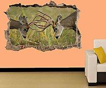 Adesivi Murali DEER IN WILD LIFE ADESIVO MURALE