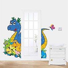 adesivi murali dinosauri adorabili per camerette