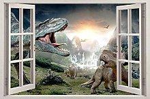 Adesivi murali Dinosauri fracassati Adesivo murale