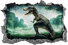 Adesivi Murali Dinosauro, adesivo, 3d, arte della