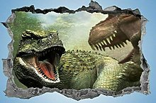 Adesivi Murali Dinosauro, adesivo, 3d,