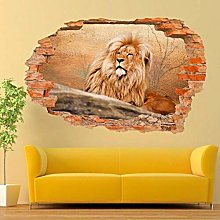 Adesivi murali Fauna selvatica Grandi felini Leone