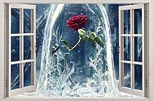 Adesivi Murali film di bellezza 3d vetrofania