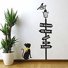 Adesivi murali gatti di grandi dimensioni Adesivi