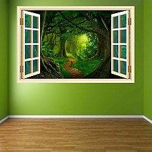Adesivi murali giungla tropicale Adesivo murale