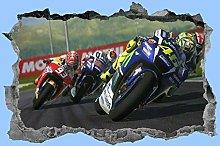 Adesivi murali Moto, adesivo, moto, decalcomania,