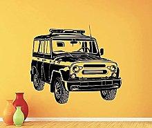 Adesivi murali Murali Stile russo Stile russo Auto