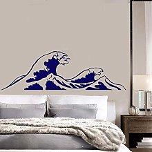Adesivi murali onda decalcomanie surf mare