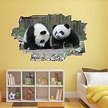 Adesivi murali Panda Animal Wall Art Sticker