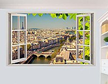 Adesivi Murali Parigi Francia Città
