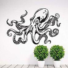 Adesivi murali per soggiorno viaggi, Kraken