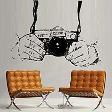 Adesivi murali per soggiorno, viaggi, moderno,