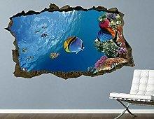 Adesivi murali Pesci Acquario Creature sottomarine
