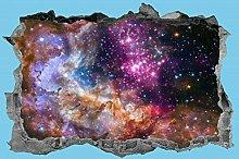Adesivi murali Pianeta, cielo notturno, adesivo,