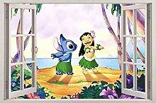 Adesivi murali poster Adesivi Cartoon anime 3D