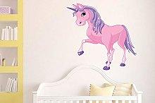 Adesivi murali poster Adesivi cavallo CLASSY ROSA