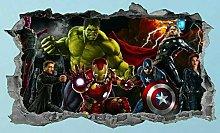 Adesivi murali poster Adesivi Eroe del film,