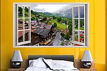 Adesivi murali poster Adesivi Montagna Svizzera