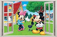 Adesivi murali poster Adesivi Personaggio dei