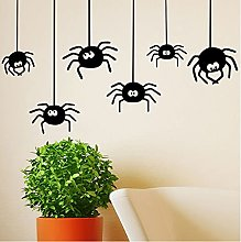 Adesivi murali ragno di Halloween Adesivi