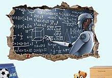 Adesivi Murali Robot intelligente artificiale