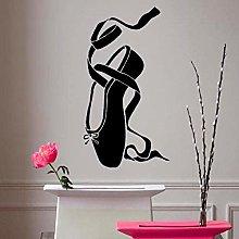 Adesivi Murali Scarpette Da Balletto Rimovibili