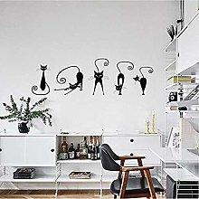 Adesivi murali simpatici gatti Set di simpatici