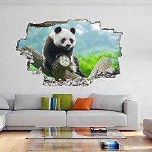 Adesivi Murali Simpatico orso Panda divertente