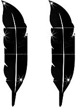 Adesivi murali Specchio FAI DA TE 3D Feather