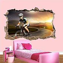 Adesivi Murali Sport bici da strada ciclista