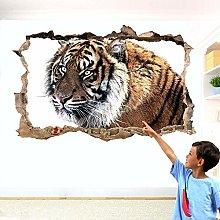 Adesivi Murali TIGRE ANIMALI SELVATICI ADESIVO DA