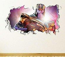 Adesivi Murali vendetta eroe scopo Thanos
