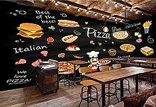 Adesivi muro 3d Carta da parati 3D del ristorante