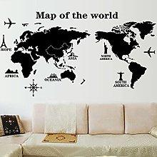 Adesivi per mappa del mondo di grandi dimensioni