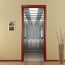 Adesivi Per Porte 3D Murale Per Porta 3D Adesivo