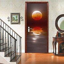 Adesivi per porte Adesivo artistico murale 3D