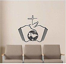Adesivo Chiesa Bambini Scuola Materna Decorazione