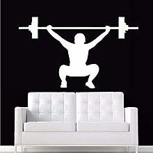 Adesivo Da Palestra Bilanciere Fitness