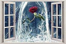 Adesivo da parete 3D Adesivo per finestra di film
