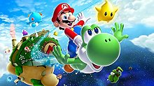 Adesivo da parete 3D Cartoon Mario Bros per